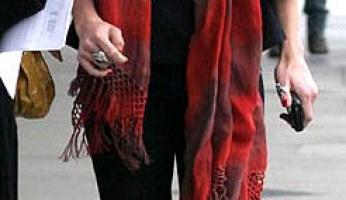 AnnaLynne McCord in Gypsy 05's CC Scarf!