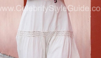 You asked for it! Please ID Audrina Patridge's White Embroidered Dress!