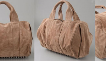 My Handbag Of The Day! The Alexander Wang Coco Duffel Bag in Camel!