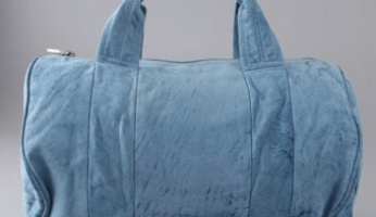 My new Obsession…..Alexander Wang Coco Duffel in Denim Leather!!!