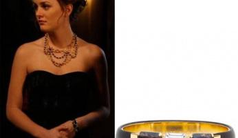 Spotted: Gossip Girl's Blair Waldorf wearing the Misto bracelet from Vita!