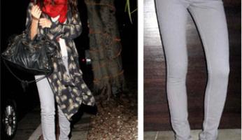 Jet Denim Gray Bolt Skinny Jeans!