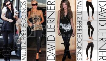 Celebrity Style David Lerner Leggings