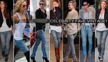 Celebrity Obsession: Vintage1 Moto Skinnies