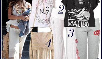 Celebrity Style: Loungewear