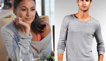 Entourage Style - Please ID Sloan's Off The Shoulder Sweater!