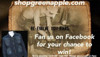 Win a 1921 Denim Jacket From ShopGreenApple.com!