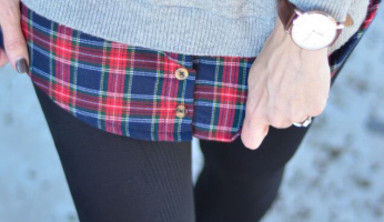 My Weekend Style: A Pop Of Plaid