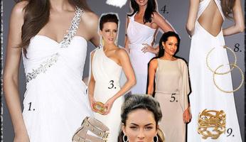 Celebrity Style Grecian Goddess!