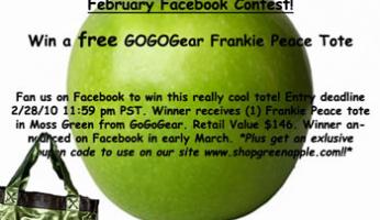 Green Apple February Facebook Fan Contest!