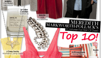 Guest Editor: Meredith Markworth-Pollack's Top 10!
