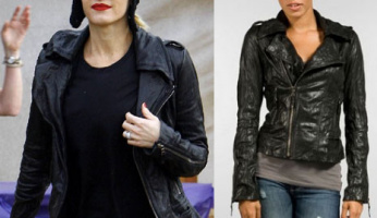 You Asked For It .....Please ID Gwen Stefani's Leather Jacket!