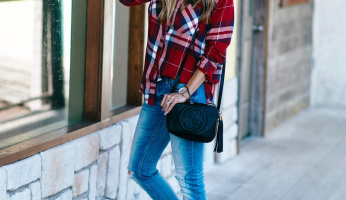The Ultimate Plaid Shirt For Fall Is Back