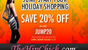 Jump Start YOur Holiday Shopping at TheHipChick.com!