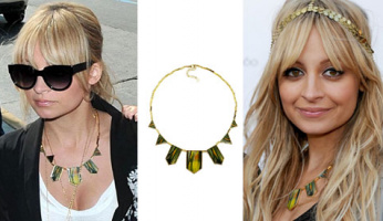 EXCLUSIVE Win It!! Nicole Richie's House of Harlow 1960 Feather Stations Necklace!