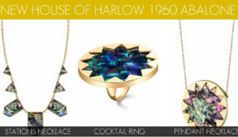 House of Harlow 1960 Abalone Collection