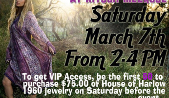 MEET NICOLE RICHIE....I'll be there, hope to see you!