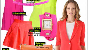 How to Wear: Neon