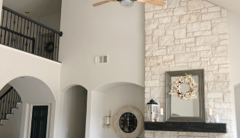 Ceiling Fans. Love 'em or Hate 'Em? The Hunter Apache Will Make Everyone A Fan...No Pun Intended.