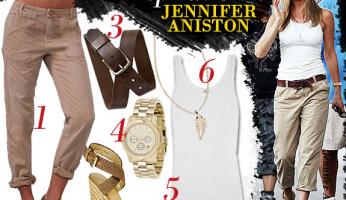 Celebrity Style Inspiration: Jennifer Aniston