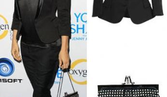 Jenny McCarthy Style! Balmain & Christian Louboutin