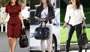 You asked for it! Please ID Jessica Biel's Favorite Bag!