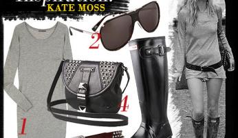 Celebrity Style Inspiration: Kate Moss