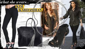 What She Wears: Kim Kardashian