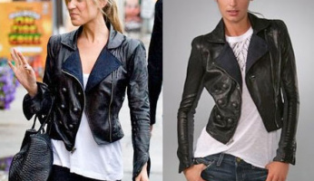 The Hill's Style! Please ID Kristin Cavallari's Leather Military Jacket from The Hills 516!