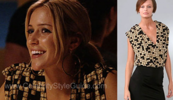The Hill's Style! Kristin's Alexander Wang Combo Dress from The Hills!