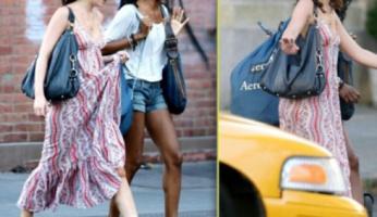 Leighten Meester Style! Leighton Love The Rebecca Minkoff Nikki Hobo Bag!