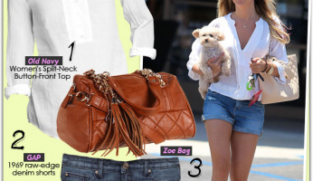 Look for Less: Ashley Tisdale