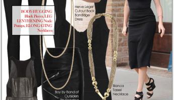 Celebrity Style Tip: Looking Svelte