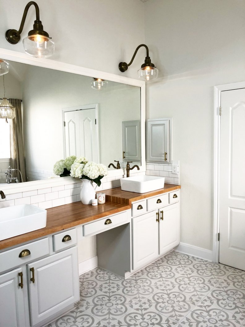Key Pieces To A Stylish (and Serene) Master Bathroom