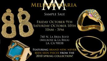 Melinda Maria Sample Sale!