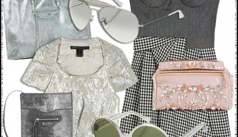 Be Inspired: Sophisticated Silver-Grey & Blush Tones