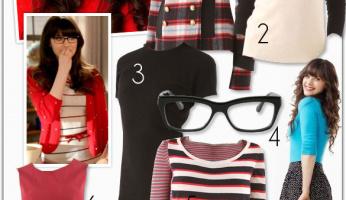 Zooey Deschanel New Girl Style