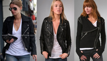 Nicky Hilton Style! You Asked For It....Please ID Nicky's Moto Jacket!