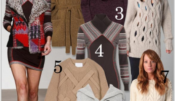 Now Trending: Cozy Knits