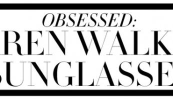 OBSESSED: KAREN WALKER SUNGLASSES