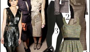 Paris Fashion Week: Tweed, Tights, and Twinkle