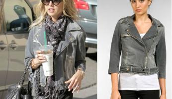 You Asked For It .....Please ID Rachel Zoe's Biker Jacket!
