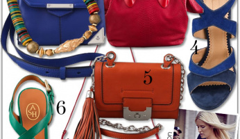 NY Fashion Week Street-Style Trends: Rainbow Accessories