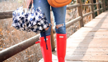 Simple Rules to Looking Chic on a Rainy Day