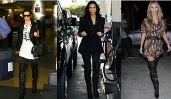 Kim Kardashian Style! Report Signature Boots!