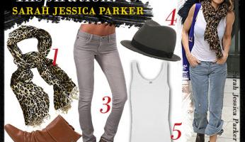 Celebrity Style Inspiration: Sarah Jessica Parker