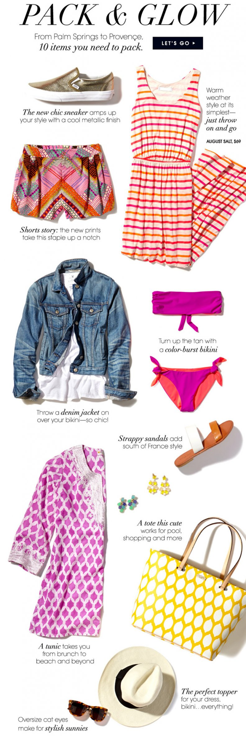 Vacation Outfits to Score You All The Likes on Instagram