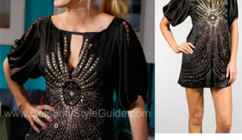 Gossip Girl Style! Buy Serena's Nanette Lepore Silk Dress from Gossip Girl!