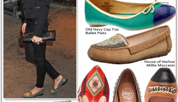 Shoe Fetish: Embellished Flats