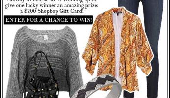 WIN IT! Shopbop $200 Shopping Spree Giveaway!